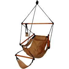 deluxe wood hammock chair
