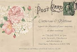 Wedding Invitations Pack Of 70 Personalised Wedding Invites