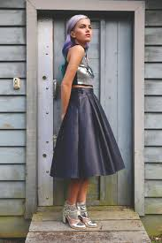 remember how amazing leather midi skirts are source xander vintage