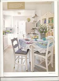 Cottage Style Kitchen Table Artist Lynn Hansons Little Cottage House Crazy