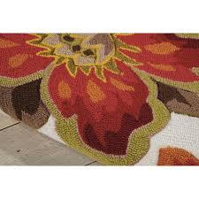 nourison fantasy area rug reviews wayfair nourison fantasy black rug