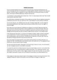 essay on wild s in english