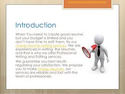 Affordable Resume Writing Services Affordable Resume Writing Services
