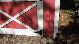 installing a barn door hinge a video tutorial from old sneelock s work you