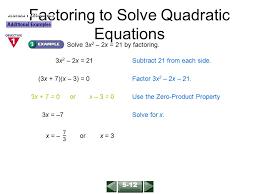 quadratic equation worksheets printable pdf