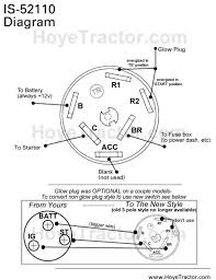 massey ferguson diesel igintion switch yanmar tractor don t know why they would refer you to the yanmar forum here are instructions for the yanmar switch not the same references as yours