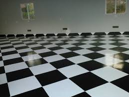 Epoxy flooring garage Wood Black And White Checkered Garage Floor Decorative Concrete Of Virginia Epoxy Garage Floor Coatings San Diego Garage Excell