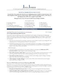 Sample Sales Marketing Resume Resume Cover Letter Example