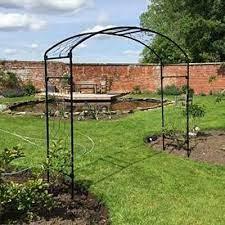 wide garden arches