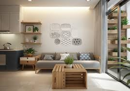 apartment design. Full Size Of Reclaimed Crate Coffee Table Small Modern Apartment Design With Asian And Scandinavian Influences L