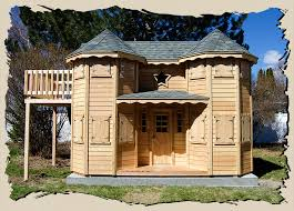 image of victorian castle playhouse
