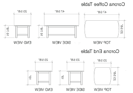 coffee table dimensions average coffee table dimensions average coffee table height