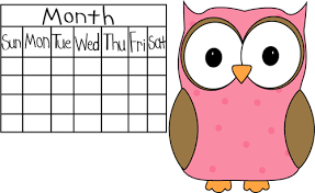 Image result for school calendar clipart free