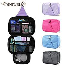 easy india blueee luxury wash bag toiletry toiletries travel makeup mens las hanging folding cosmetics