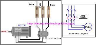 contactor circuits diagrams wiring diagrams best a simple circuit diagram of contactor three phase motor magnetic contactor diagram contactor circuits diagrams