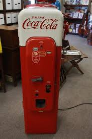 1950'S Vending Machine Extraordinary VINTAGE 48's Coca Cola Vendorlator VMC48 Soda Machine W Water