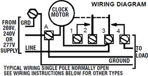 intermatic timer t106r 24 hour dial 208v 277v 40 amp 1 pole double installation intermatic t106r wiring diagram