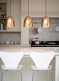 trendy lighting. copper lighting is a great way to accent your home decor use it in trendy