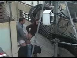 Anal caught on security camera