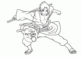 Coloring Pages Of Naruto Inspirationa Naruto Coloring Pages Kakashi