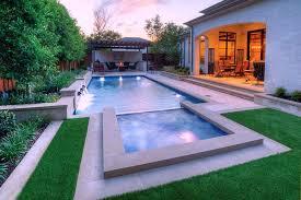 rectangular pool designs with spa. Modern Rectangular Pool Designs With Spa A