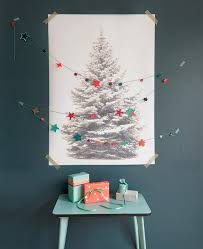 60 Wall Christmas Tree  Alternative Christmas Tree Ideas  Family 4 Christmas Trees