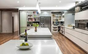 hidden door kitchen. a wall of sliding doors. hidden door kitchen