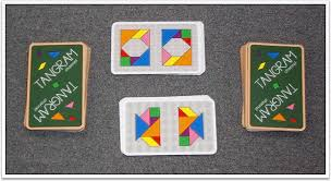 how to play tangram snap card game