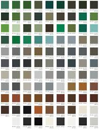 Color Chart Powder Coating Inc