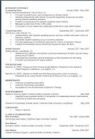Resume For Applying To Graduate School Example Curriculum Vitae For