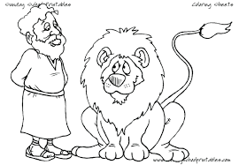 Lion Den Coloring Pages Lions Pictures Of And Tigers Lambs Pic ...