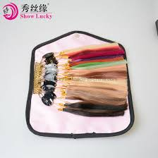 Sample Hair Colors Chart Human Hair Color Ring 32pcs Set For Salon Hair Color Chart Extensions And Salon Hair Dyeing Sample Can Be Dye Any Color