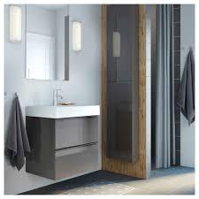 Ikea Bathroom Godmorgon Wall Cabinet With 1 Door Black Brown Ikea