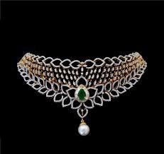 indian diamond necklace nk027100000