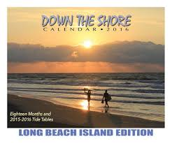 Down The Shore Long Beach Island Calendar 2016 Down The