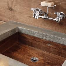 walnut sink carved on a cnc router