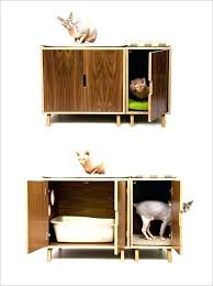 cat litter box furniture diy. Cheap Litter Box Furniture Hidden Cabinet Designer Cat . Diy