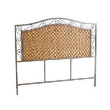 pier 1 bedroom furniture. pier 1 imports - metal scroll/rattan queen headboard bedroom furniture
