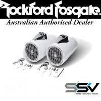 marine audio speakers wakeboard speakers rockford fosgate pm2652w punch marine 6 5 wakeboard tower speakers