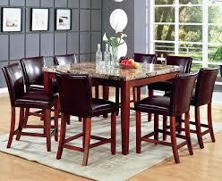 marble pub table telegraph warm cherry wood and marble pub table set marble pub table leather