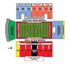 Troy University Stadium Seating Chart 70 Studious Bsu Football Seating Chart