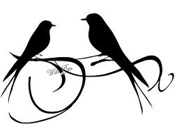 lovebird clipart silhouette. Fine Lovebird Image 0 To Lovebird Clipart Silhouette V