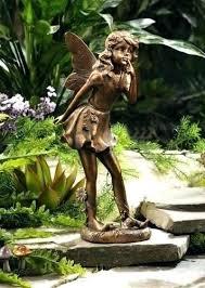 garden fairy statues. Garden Fairies Statues Fairy Standing Statue Copper Look New . F