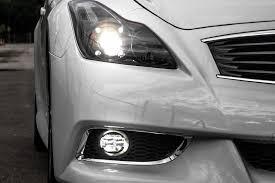 2008 G37 Coupe Fog Lights Infiniti Angled Morimoto Xb Led