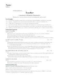 Esl Teacher Resume Resume Sample Teacher Resumes Samples Co Teacher