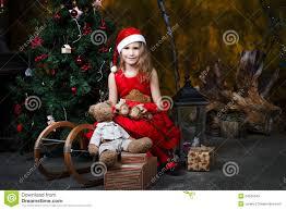 Girls In Fancy Dress Near Stock Photos U0026 Girls In Fancy Dress Near Girls Christmas Tree Dress