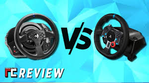 Logitech G29 vs <b>Thrustmaster T300RS</b> side by side review - YouTube