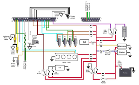 how to make full color wiring diagrams grassroots motorsports that s one i did in paint