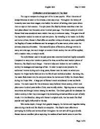 essays on the illiad iliad critical evaluation essay enotes com