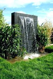 outdoor wall waterfall water wall fountains outdoor wall water fountains photos large outdoor wall water fountains